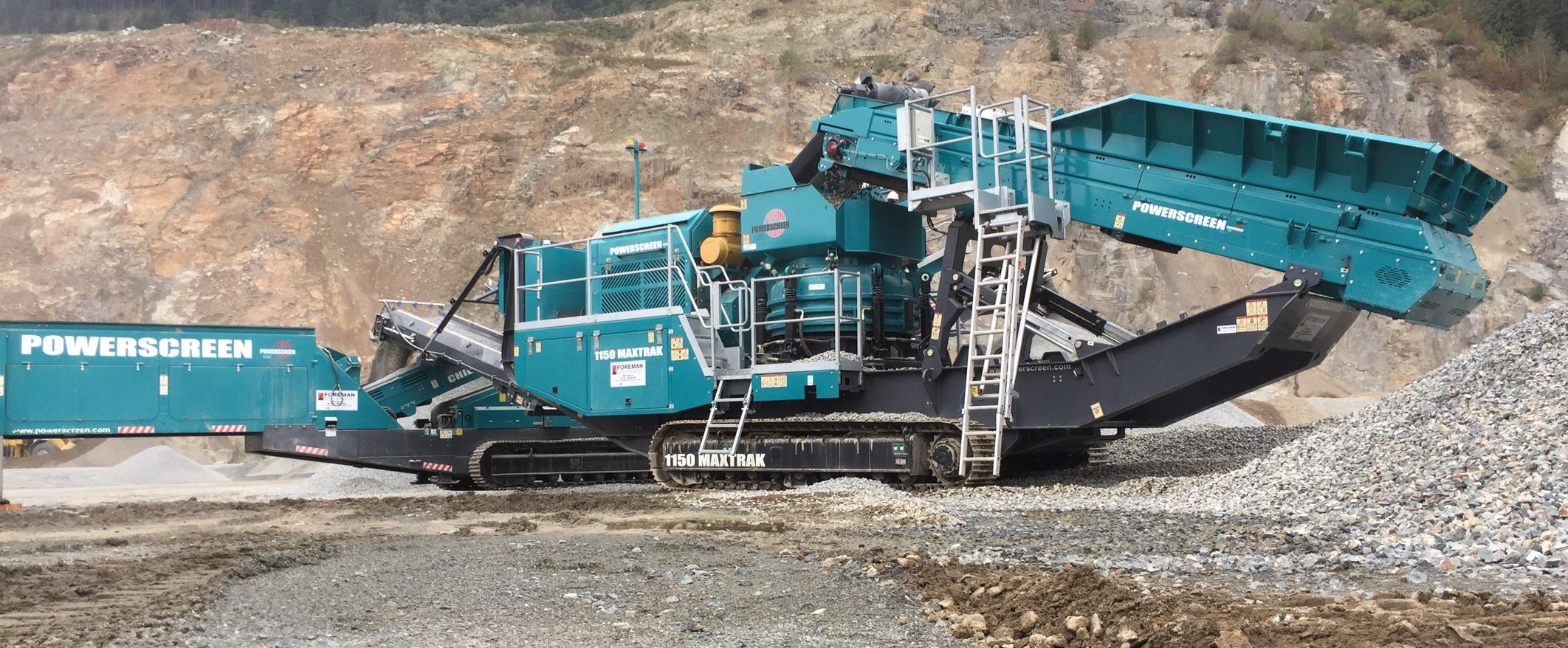 Powerscreen Crushing Equipment Sales & Rental in BC & Alberta