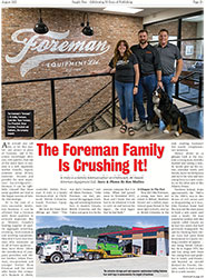 Supply Post Article About Foreman Equipment Ltd.